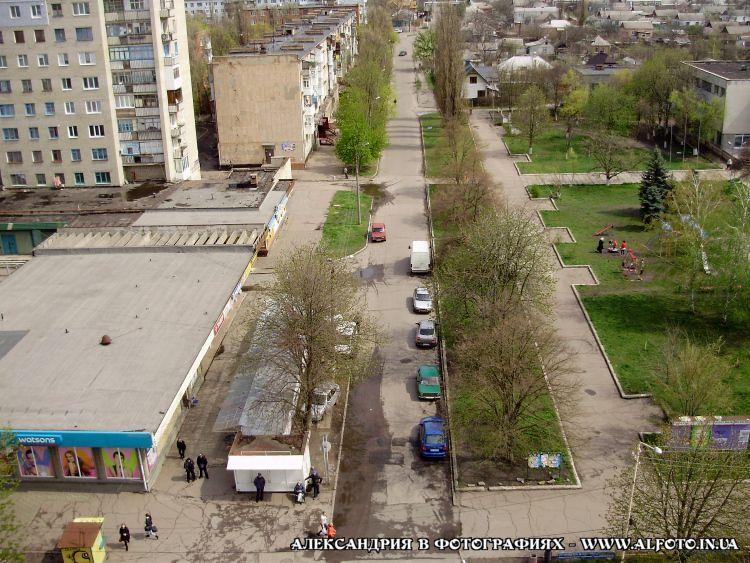 Александрия с крыш. пр. Ленина 96
