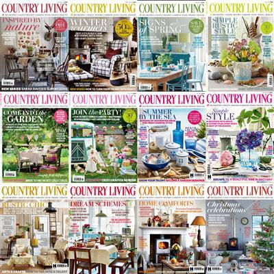 Country Living UK - 2015 Full Year Issues Collection