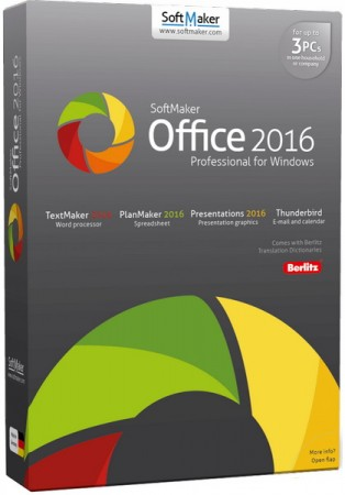 SoftMaker Office Professional 2016 rev 763.1207 RePack (& portable) by KpoJIuK