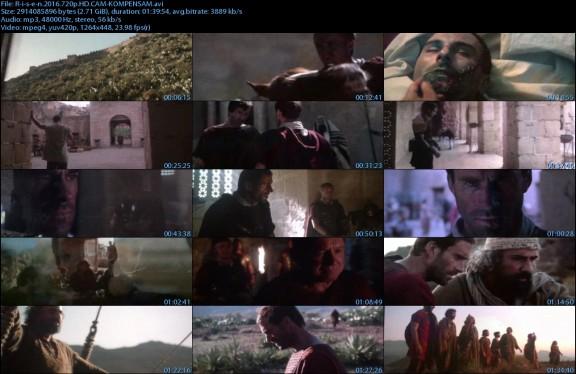 Risen (2016) 720p HD CAM XviD-KOMPENSAM