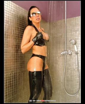 Latex Shower RedOptics.com