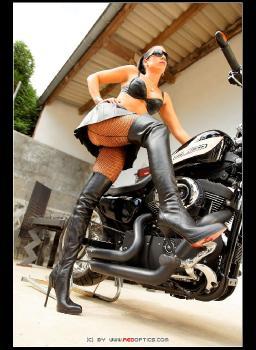 Biker Babe RedOptics.com