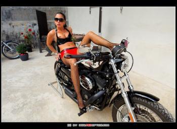 Latex Biker RedOptics.com