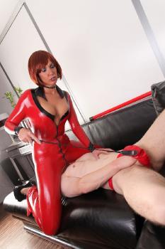 Red Latex Slave RedOptics.com