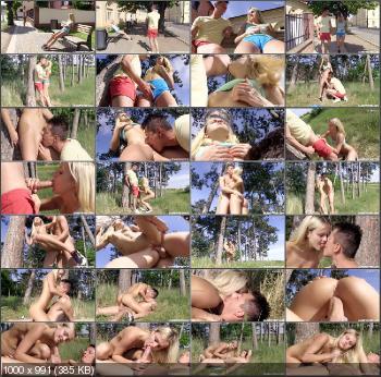 Joleyn Burst - Cute Teen In Nike Air Max Fucked Outdoors [ClubSevenTeen] (HD 720p|MP4|838 MB|2015)