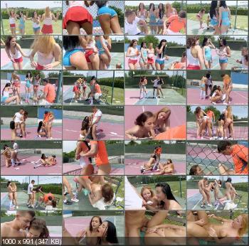 Lady D, Chrissy Fox, Ana Rose, Antonia Sainz - This Aint Wimbledon 2015 [ClubSevenTeen] (HD 720p|MP4|1.00 GB|2015)