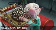 Секретная служба Санта-Клауса / Arthur Christmas (2011) (BDRip-AVC) 60 fps