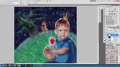 Анастасия Аникеева - Обработка детской фотографии + бонус