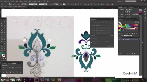 Создание векторных иллюстраций для микростоков в Adobe Illustrator. Видеокурс (2015)