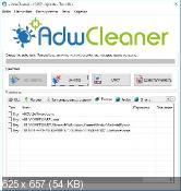 AdwCleaner 5.032 - удаление нежелательных панелей инструментов в веб-браузерах