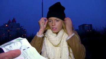 Chrissy Fox (Euro Blonde Sucks Stranger Dick / 22.02.2016) FullHD 1080p