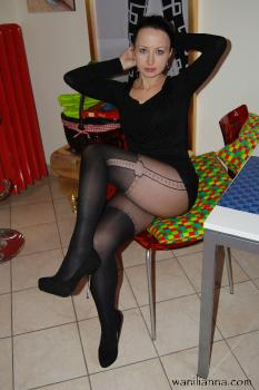 Pantyhose madness in Torino