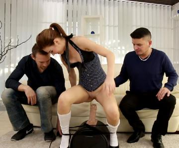 Timea Bella, Richy, Erik Everhard - DP Sluts, Scene 3 (2015) HD 720p
