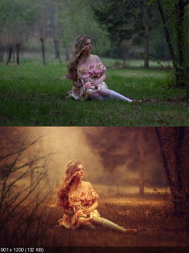 художественная ретушь фотографий уроки видео