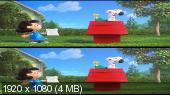 Снупи и мелочь пузатая в кино 3D / The Peanuts Movie 3D Вертикальная анаморфная