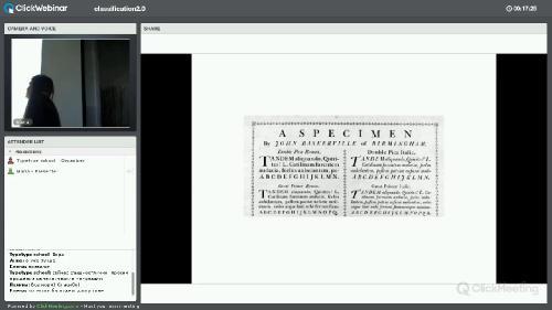 Лекции «Шрифтовые вечера»