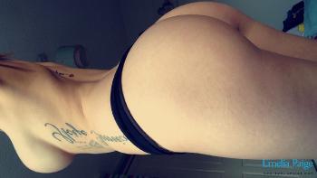 selfie03 Sexy Black Lingerie