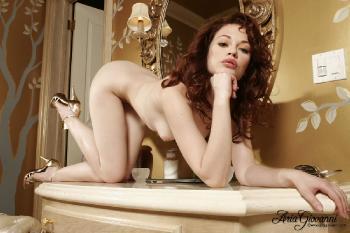 0964 gf Justine Jolie- Light Green Demi Part II
