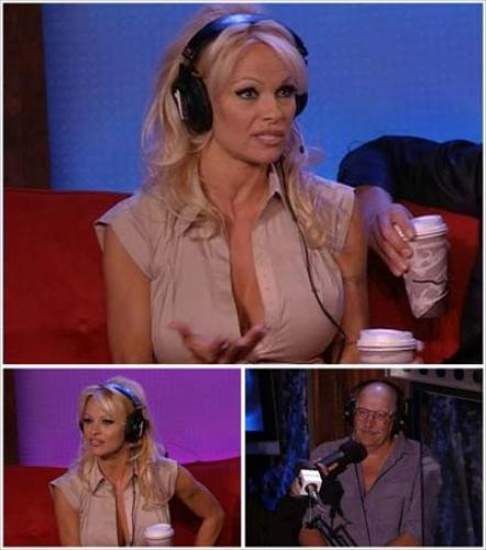 Howard Stern TV On Demand HTVOD - Pam Anderson and Magician Hans Klok 6-19-07